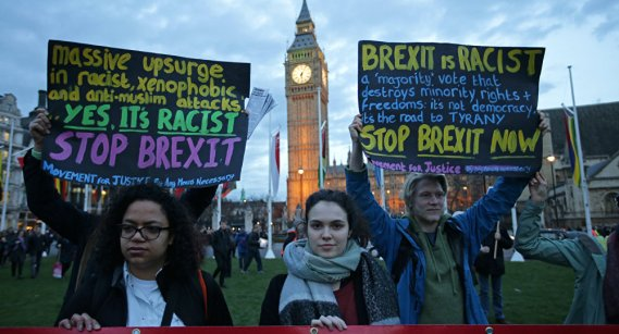 Brexit is racist